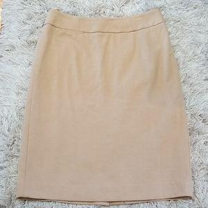 Calvin Klein tan skirt, size 6